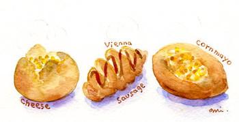 手作り食事パン