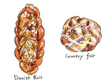 編み込みパン